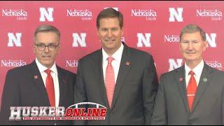 HOL HD: Nebraska Introduces Trev Alberts as new Director of Athletics