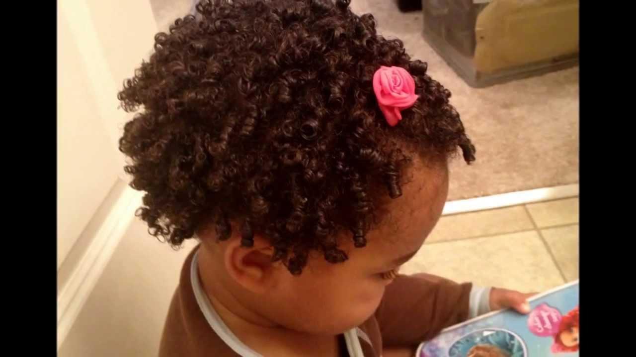 Finger Shinglescoils On Natural Afro Baby Hair Twa Youtube