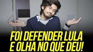 FOI DEFENDER LULA E OLHA NO QUE DEU
