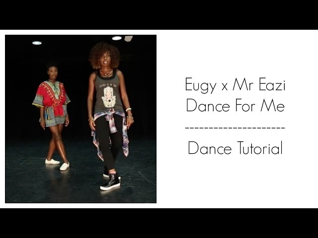 Eugy x Mr Eazi - Dance For Me Dance Tutorial