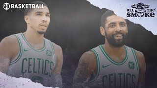 Jayson Tatum On The Celtics 2018-19 Struggles & Relationship W/ Kyrie Irving | ALL THE SMOKE