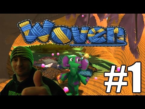 Woven Gameplay Playthrough #1 - A Plush World (PC)
