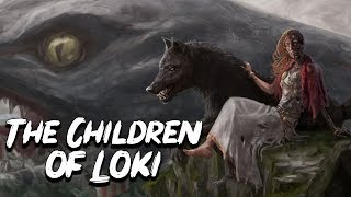 The Scary Children of Loki - Norse Mythology Stories - See U in History
