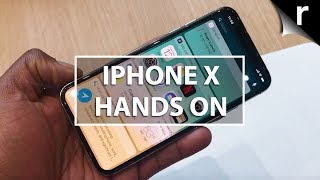 Apple iPhone X hands-on: Meet the £1000 iPhone