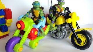 Черепашки Ниндзя. Мультик TMNT Turtle. Все серии подряд. Игрушки для Мальчиков
