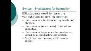 What is Syntax?