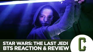 Star Wars: The Last Jedi Behind The Scenes Featurette Reaction and Review
