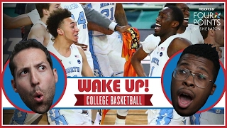 UNC Grinds Its Way To The 2017 Championship | Wake Up, College Basketball