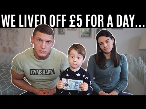 We lived off £5 for a day  **family food challenge**