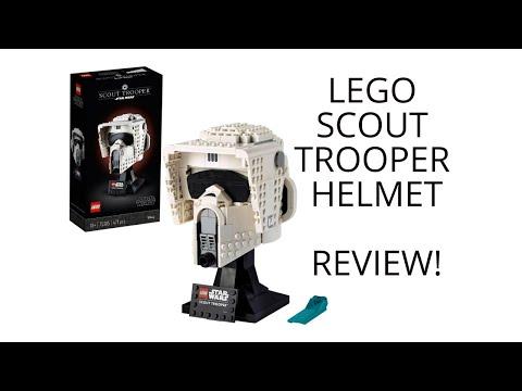 75305 - Scout Trooper Büste REVIEW I Webdough Film