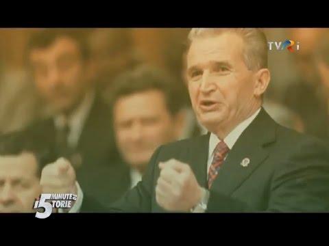 5 minute de istorie: Nicolae Ceauşescu şi şedinţa CPEx din 17 decembrie 1989