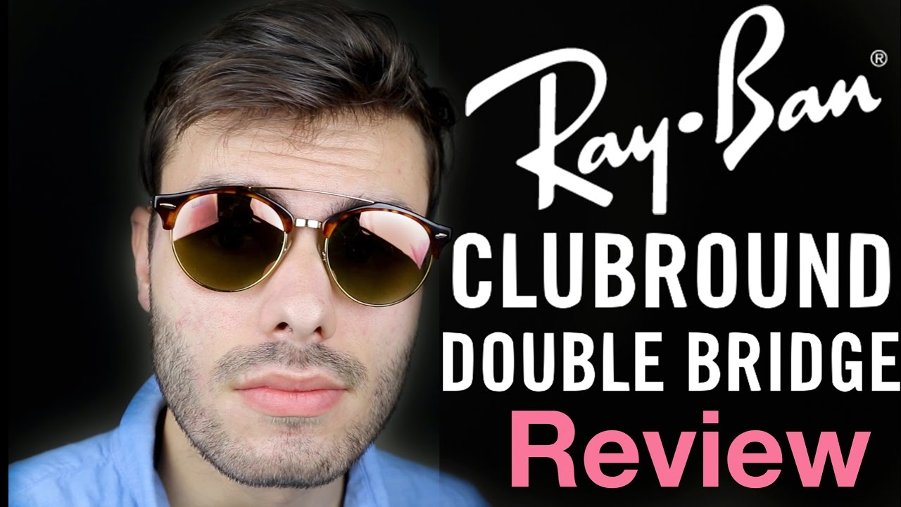 515aa4452593a Ray-Ban Clubround Double bridge - YouTube