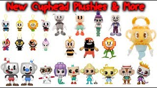 New Cuphead Plushies, Pops, Keychain Plushies, and Vynls Announced!