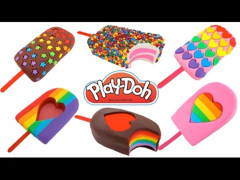 Thumbnail: How to Make Play-Doh Ice Cream Popsicles * Creative Fun for Kids * Play Dough Art * RainbowLearning