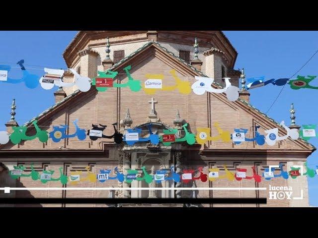 VÍDEO: Un cielo lleno de Vespas para anunciar la séptima edición de la Ruta Subbética... en Vespa.