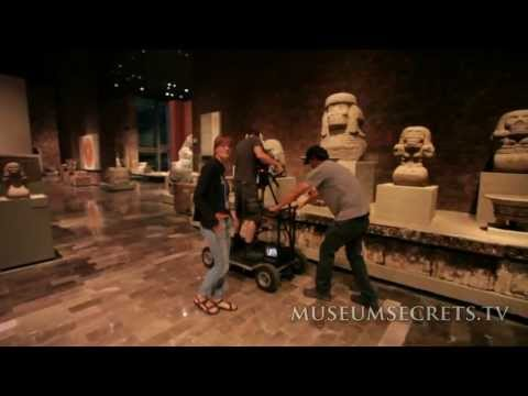 Inside the Aztec Gladiator Room, National Museum of Anthropology, Mexico City (Vlog)
