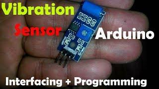 "Arduino Project: Vibration sensor tutorial, Vibration measurement, vibration detector ""SW 420"""