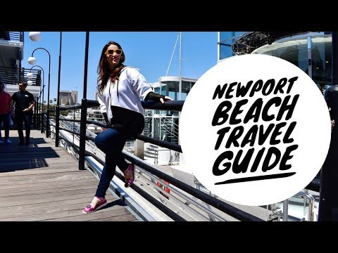 Newport Beach Travel Guide // Newport Beach Film Festival Fun