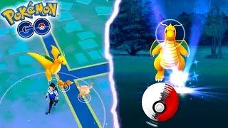 THE MOST RANDOM WILD DRAGONITE EVER IN POKEMON GO! Pokemon Catching Spree Ep 6