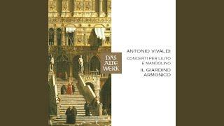 Mandolin Concerto in C Major, RV 425: I. Allegro