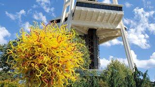 Beautiful  Glass Museum in Seattle ...