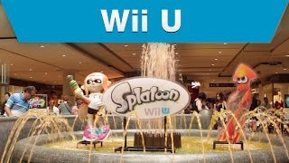 Nintendo of Canada – Splatoon Inkling Invasion @ the Toronto Eaton Centre