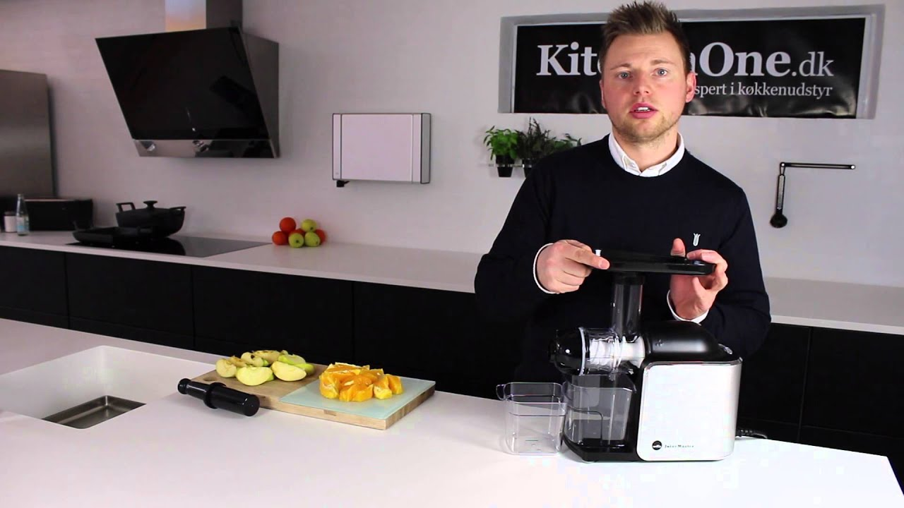 Wilfa Juicemaster (Slow Juicer) - YouTube