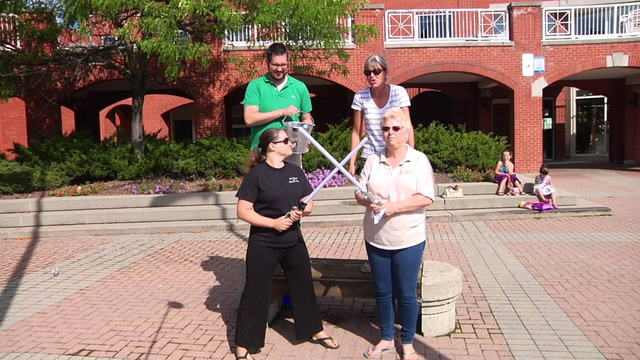 orleans chamber of commerce ice bucket challenge for als youtube. Black Bedroom Furniture Sets. Home Design Ideas