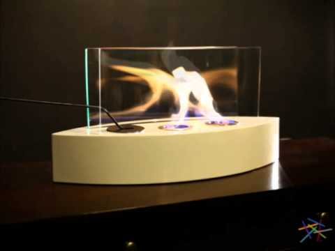 Anywhere Fireplace Lexington White Lacquer Indoor Outdoor Fireplace! - Product Review Video