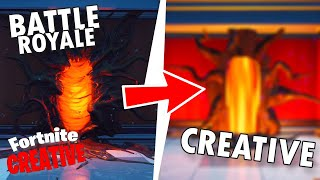 How to get STRANGER THINGS PORTAL in Fortnite Creative! - Fortnite Creative Mode