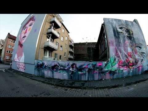 THE U BLOCK GRAFFITI VIDEO