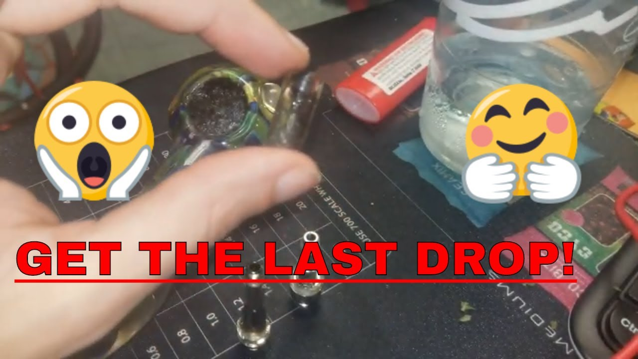 How to get EVERY DROP out of dab / oil cartridges!
