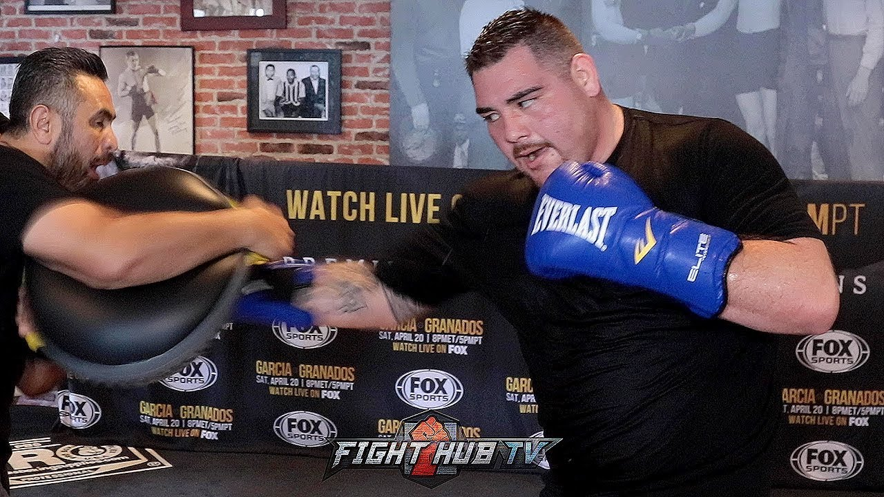 Image result for andy ruiz jr. training