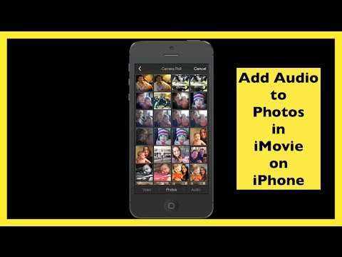 Add Audio To Still Photos Using iMovie On iPhone