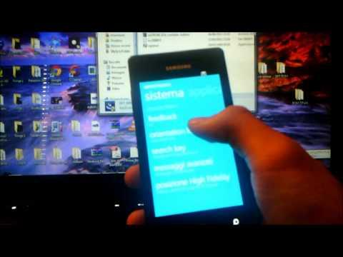 Flash ROM e Cooked su Samsung Omnia 7 by Luigi per batista70phone