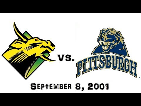 September 8, 2001 - South Florida Bulls vs. Pittsburgh Panthers Full Football Game