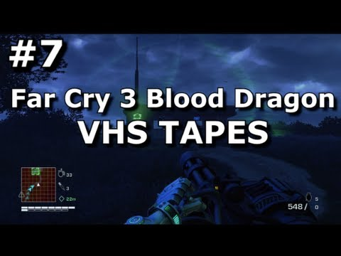 Far Cry 3 Blood Dragon Collectibles Vhs Tapes Youtube