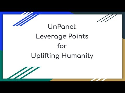Leverage Points for Uplifting Humanity - Consciousness Hacking