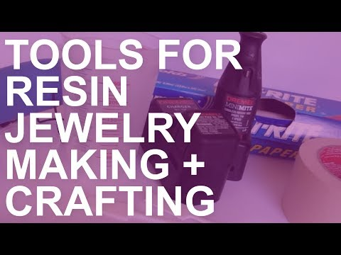 Tools for Resin Jewelry Making and Crafting