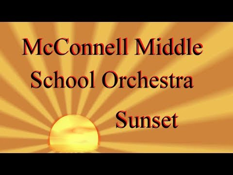 McConnell Middle School: Fall Orchestra: Sunset