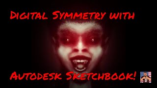Symmetry Drawing with Sketchbook