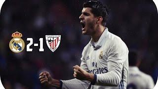 real madrid 2 x 1 athletic bilbao gols campeonato espanhol 2016 23 10 16 hd