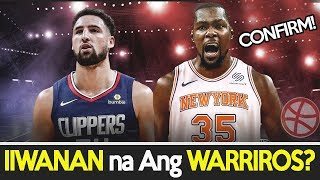[4.84 MB] NANGANGAMOY ALISAN NA!! KEVIN DURANT TINANGGIHAN ang OFFER ng WARRIORS | KLAY sa CLIPPERS??