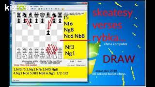 Kizoa Movie - Video - Slideshow Maker: skeatesy verse rybka chess computer draw by repertition 2018