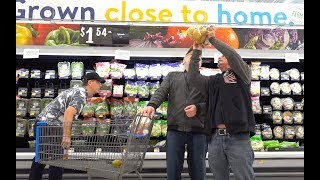 The Art of the Distraction - How to sneak items into people's shopping carts!