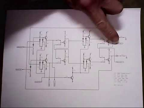 detailed schematic of