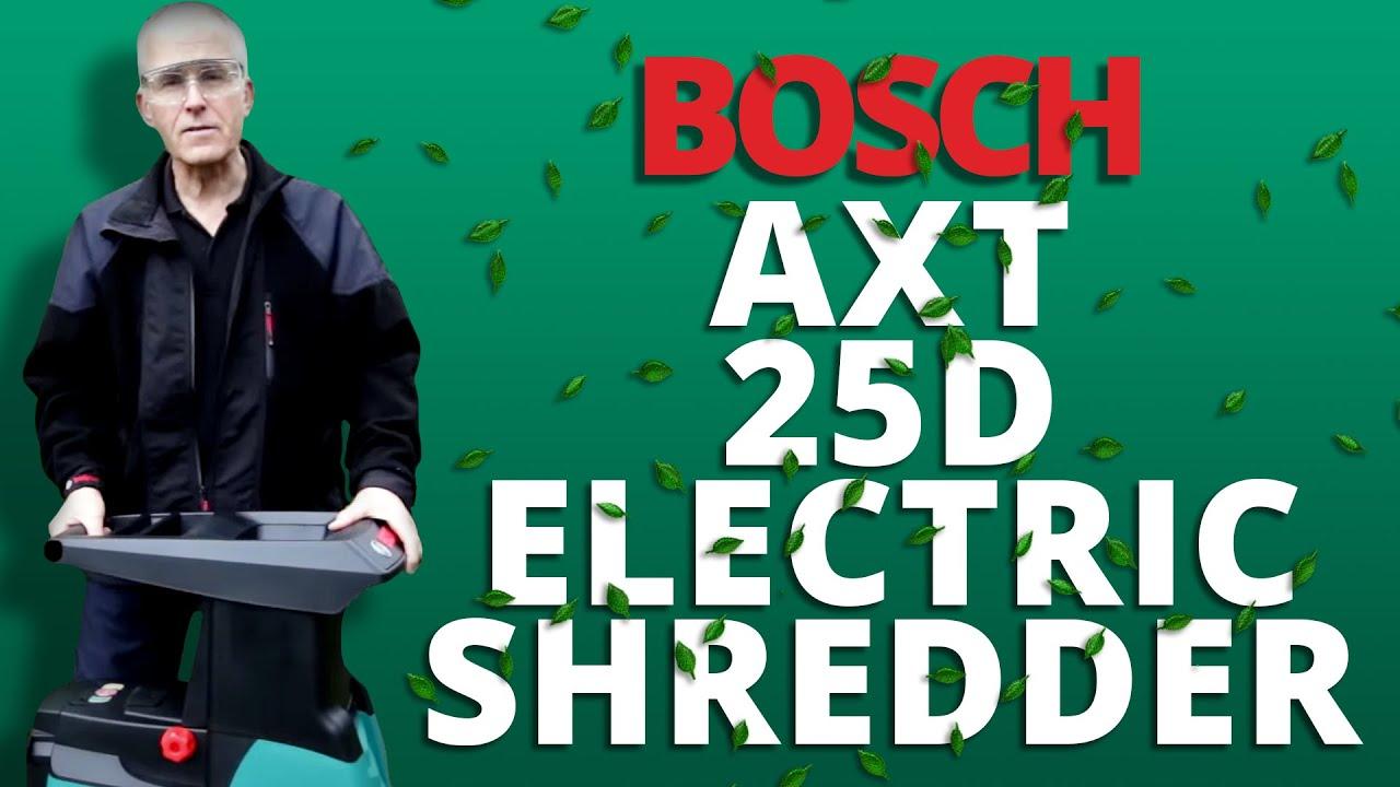 Bosch Axt 25 D 2500w Electric Shredder Full Video Guide Youtube