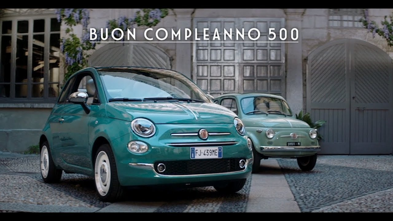fiat 500 60th anniversary event in turin youtube. Black Bedroom Furniture Sets. Home Design Ideas