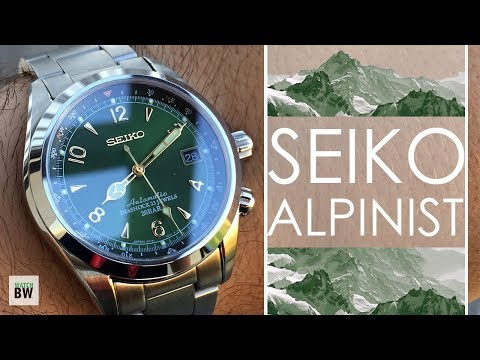 Seiko Alpinist Review - The Best SARB