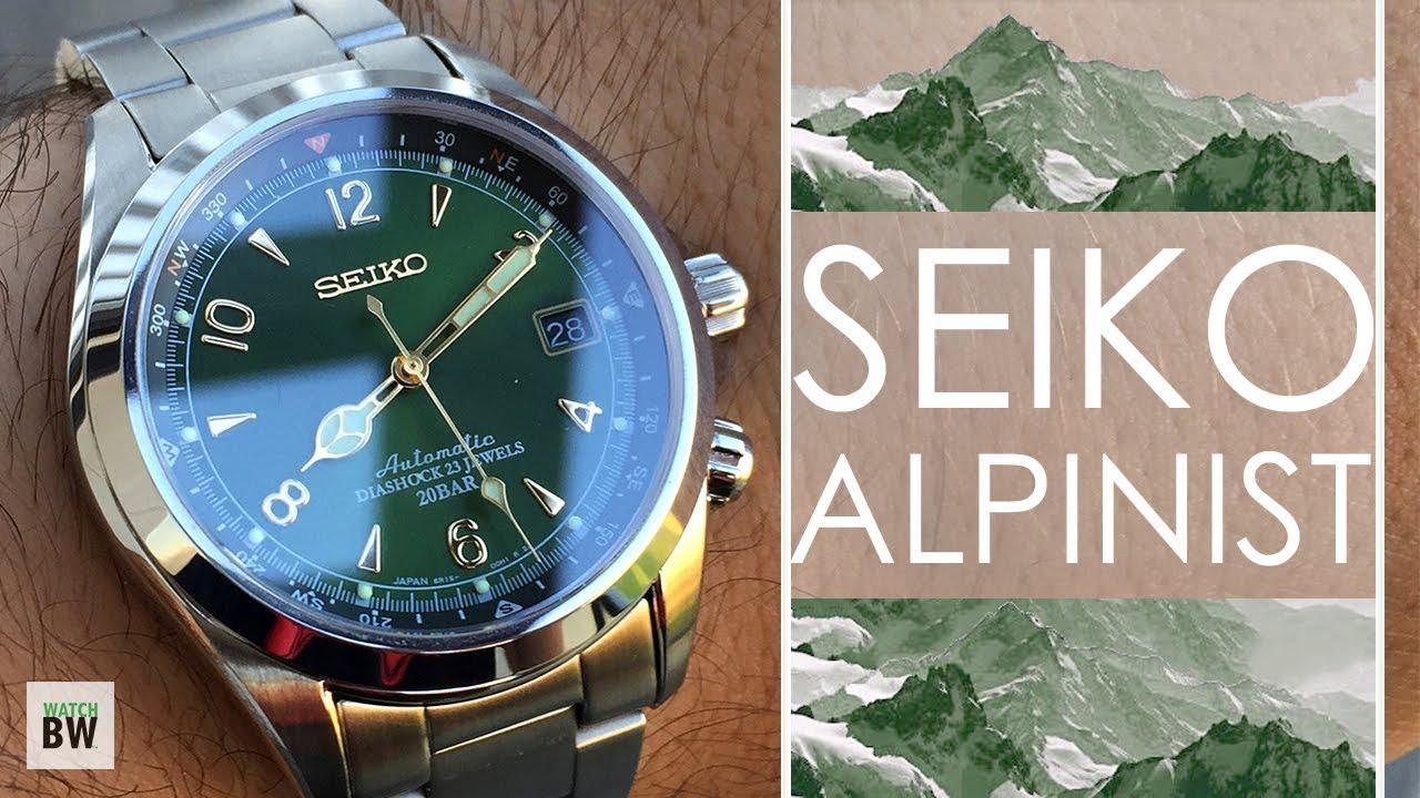 Seiko Alpinist SARB017 - Japan's Original Explorer - Wristwatch .